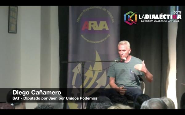 Conversación con Diego Cañamero - Semana Cultural Vallekana 2016