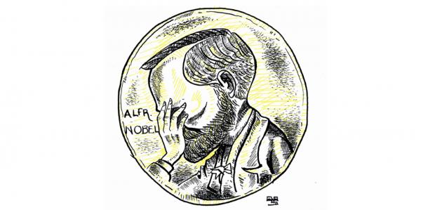 El Nobel y la mujer