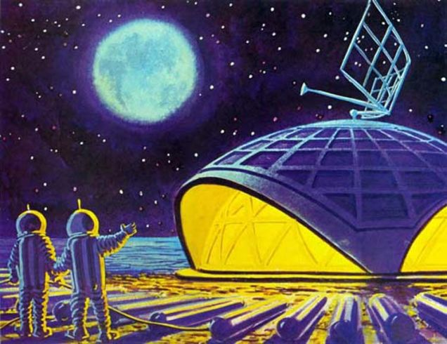 La Bóveda de la Estación Lunar, por Andrei Sokolov