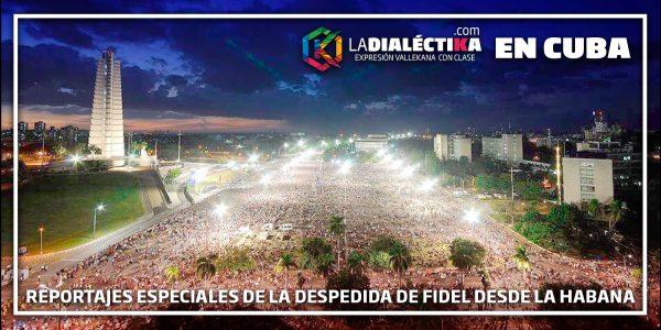 Introducción al especial Despedida de Fidel desde el Teatro Nacional (La Habana - Cuba)