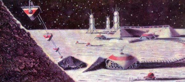 Cómo los artistas soviéticos imaginaron la vida comunista en el espacio