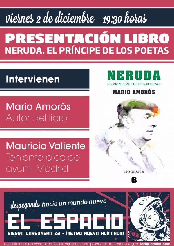 """Presentación libro """"Neruda. El príncipe de los poetas"""""""