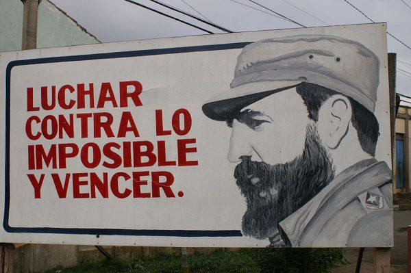 Homenaje al Comandante Fidel Castro y a la Revolución Cubana