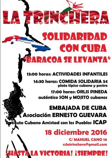 "Solidaridad con Cuba ""Baracoa se levanta"""