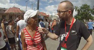 Despedida de Fidel en Santiago de Cuba