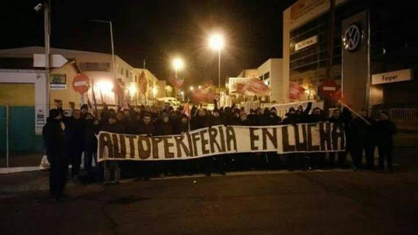 IU y el PCE muestran su apoyo a los trabajadores de Autoperiferia en su huelga