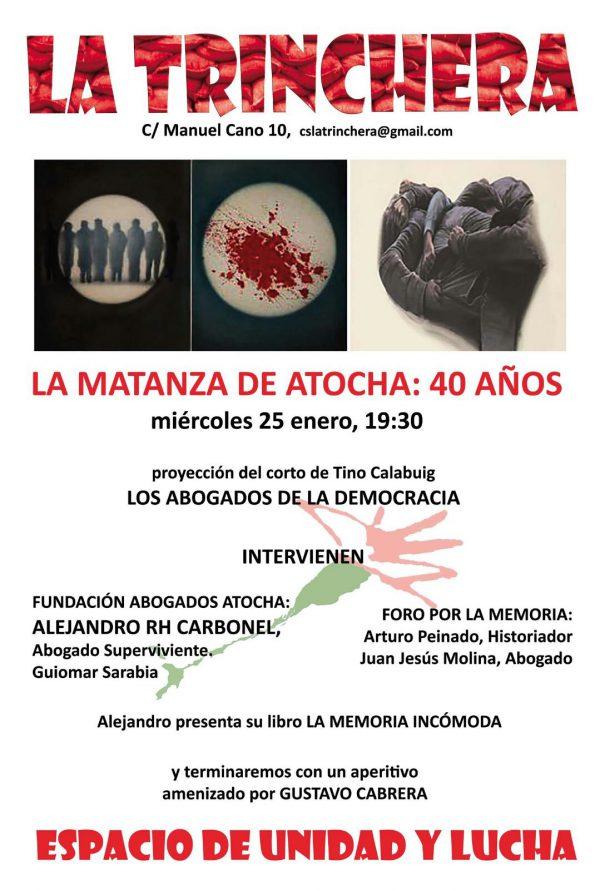 La Matanza de Atocha: 40 años