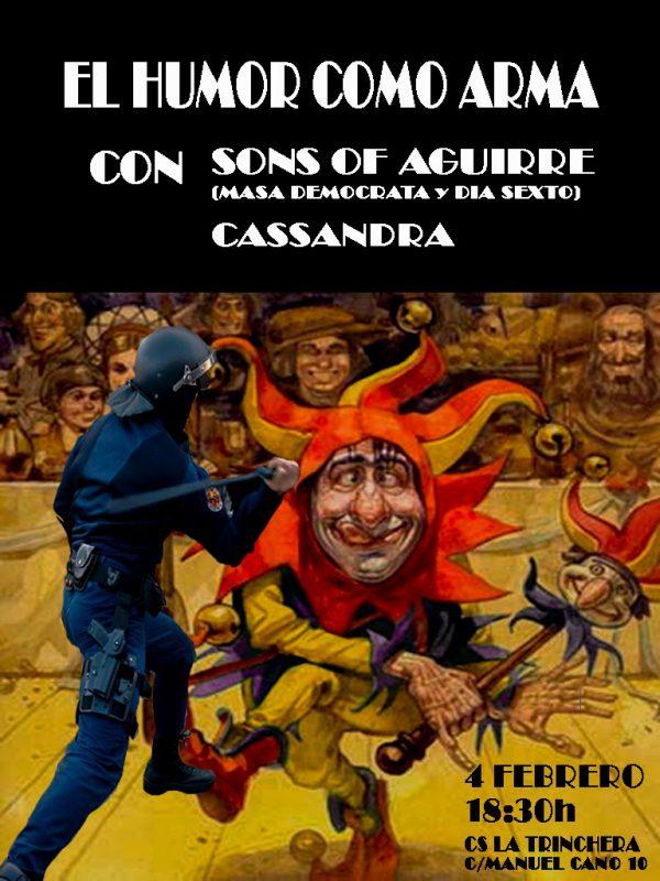 El humor como arma con Sons of Aguirre y Cassandra
