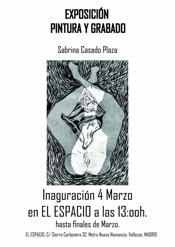 Exposición pintura y grabado de Sabrina Casado Plaza