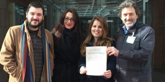 Álvaro Aguilera, Sol Sánchez, Esther López Barceló y Mauricio Valiente