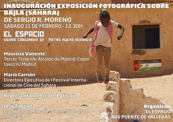 La realidad del pueblo saharaui llega este sábado a Puente de Vallecas