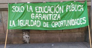 huelga educativa