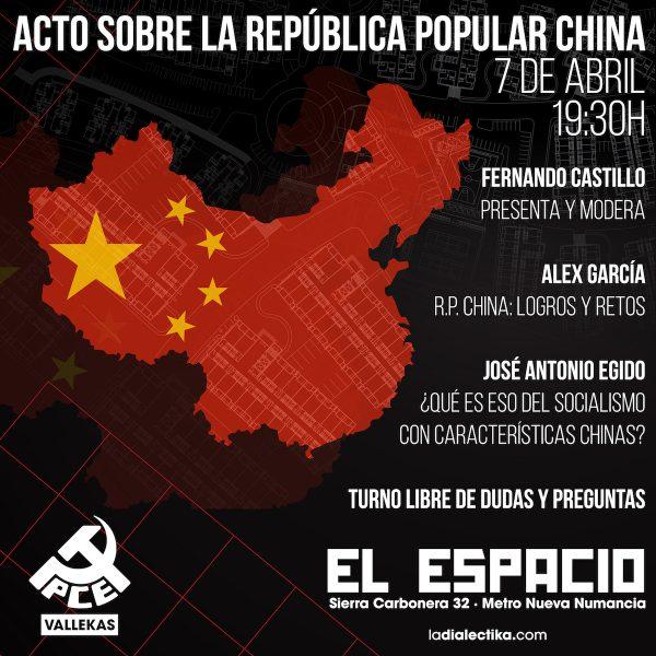 Acto sobre la República Popular China