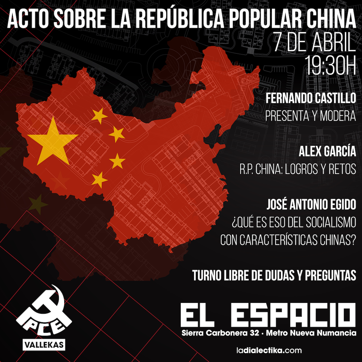 acto sobre China