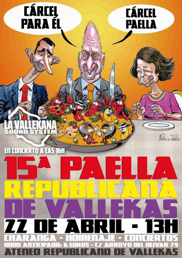 15ª Paella Republicana de Vallekas