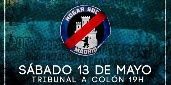 Manifestación contra Hogar Social Madrid
