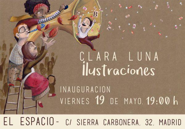 Inauguración exposición de Clara Luna