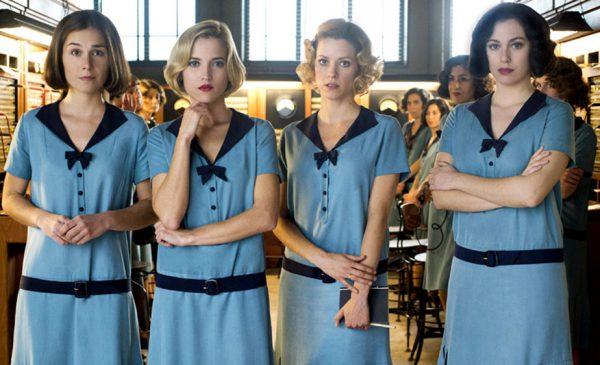 Las chicas del cable: vender una serie feminista que no lo es