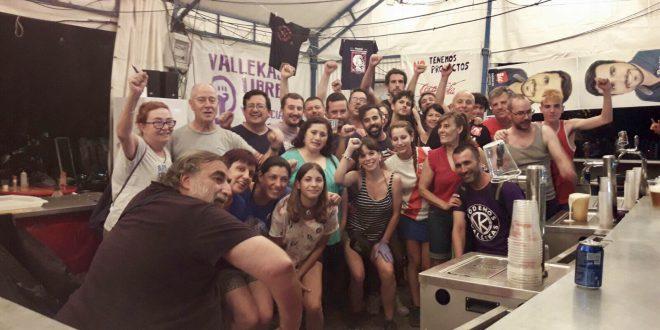 El PCE y las fiestas de Puente de Vallekas 2017