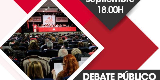 Acto Ejes de un debate: El XX Congreso del PCE
