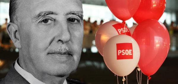 Antepasados franquistas en el PSOE y PRISA