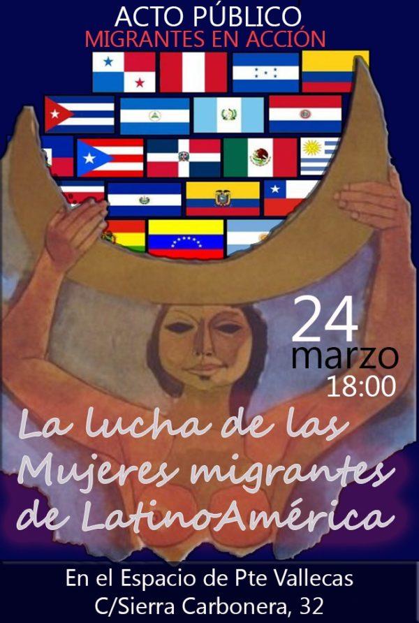 """Acto público """"migrantes en acción"""""""