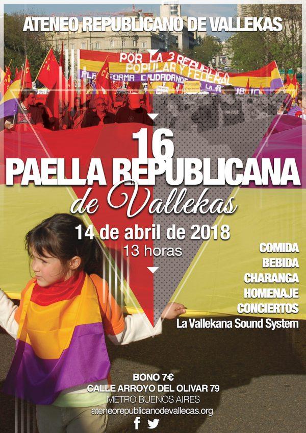 16 Paella Republicana de Vallekas