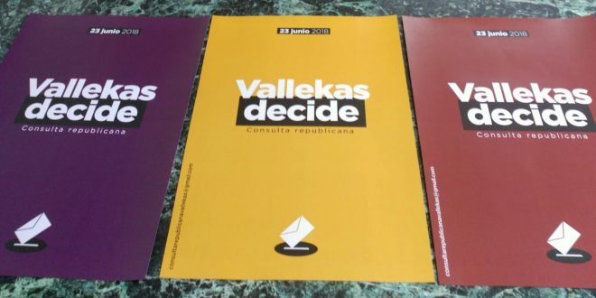 Vallekas Decide el 23 de junio su forma de estado
