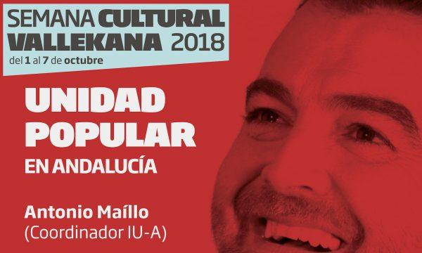 Antonio Maíllo - Unidad Popular en Andalucía