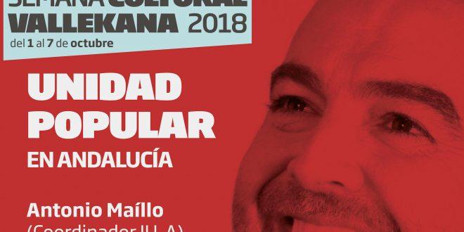 Antonio Maíllo – Unidad Popular en Andalucía